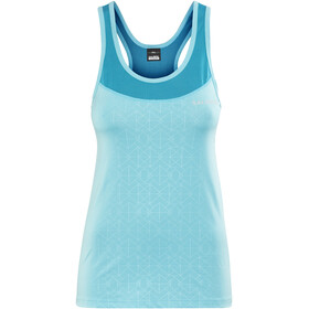 Salming Pure Running Shirt sleeveless Women blue